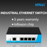 Fast Ethernet Switch Din Rail Thunder