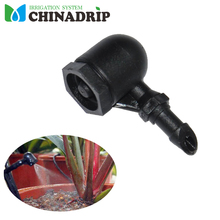 Micro Irrigation System Elbow Misting Fogger For Hydroponics Sprinkler Irrigation