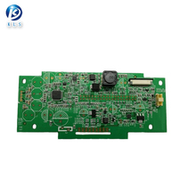 Custom ru 94v0 pcb circuit board with electronic components