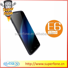 E6 5.0 inch MTK6572 dual core support whatsapp and games android 4.4.2 OS the best smartphone 2016