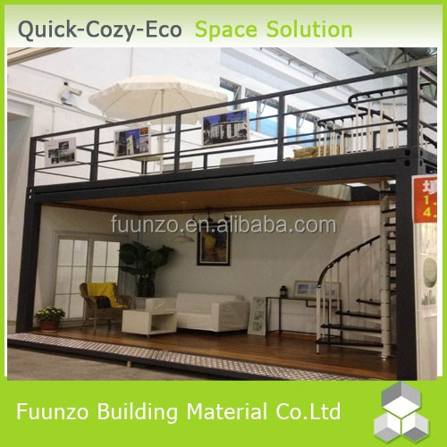 Flat Roof Minitype Eco 20ft Container Living House