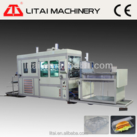 Computerized high precision good quality plastic vegetable box container forming machine