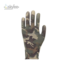 SKYEE Firm grip anti oil dipping PU palm garden gloves