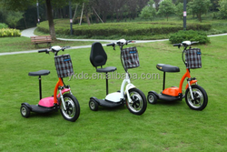 New products 2016 three wheels electric scooter electric vehicles for disabled
