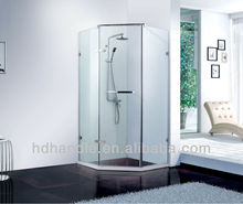 Bath shower screen , shower screen with hinged door