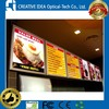 Menu Boards of Fast Food