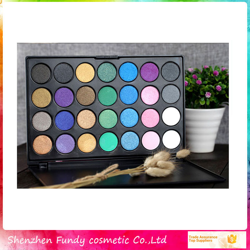 Create Your Own Brand Cosmetics Makeup 28 Color Eyeshadow Palette