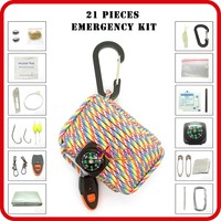 survival kit 72 hour outdoor emergency survival gear list