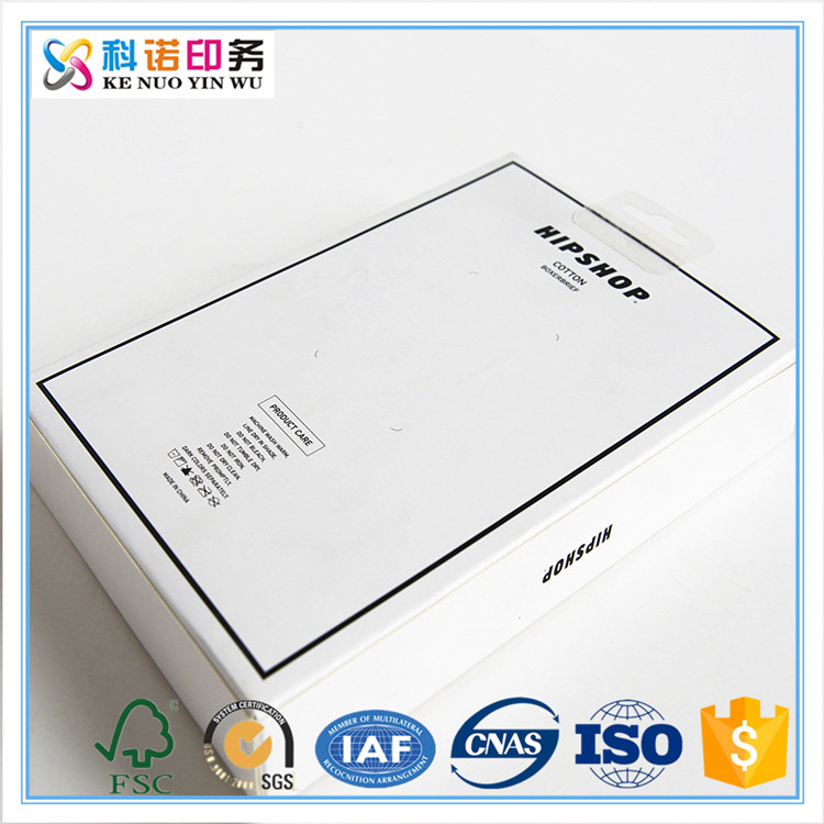 Fresh style paper gift pull drawer packaging box with transparent PVC window box with transparent window