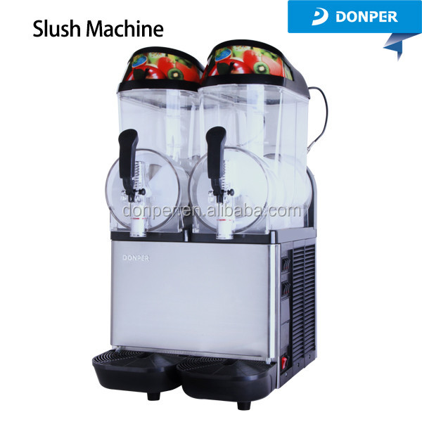 XC224 iced coffee slush dispenser slush machine