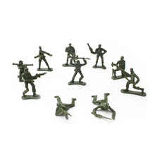ICTI certificated custom made mini plastic toy soldier