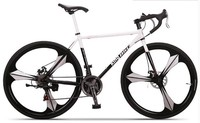 3 aero spoke wheels road bike / 21 speed racing bicycle