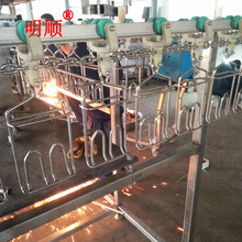 China sell good quality poultry farm used chicken slaughtering equipment / broiler slaughter line