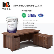 Clear polyurethane sanding coating for wood