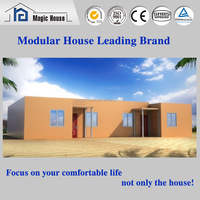 Most Economical ISO Quality environment protectable steel structure house