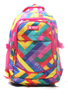 Stock 2016 New Design Fashion Travel Custom School Pattern Backpack