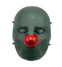 Guangzhou halloween props cs mask in party ugly clown masks