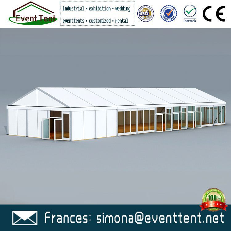 apyrous inflatable cheap wedding marquee party tent for sale with double wing glass door