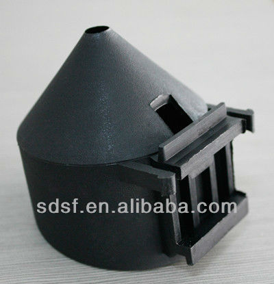Injection Mould Solar Bottom Tube Plastic Cover With High Quality