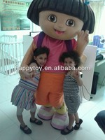 HI EN71 dora the explorer cosplay mascot costume cartoon adult