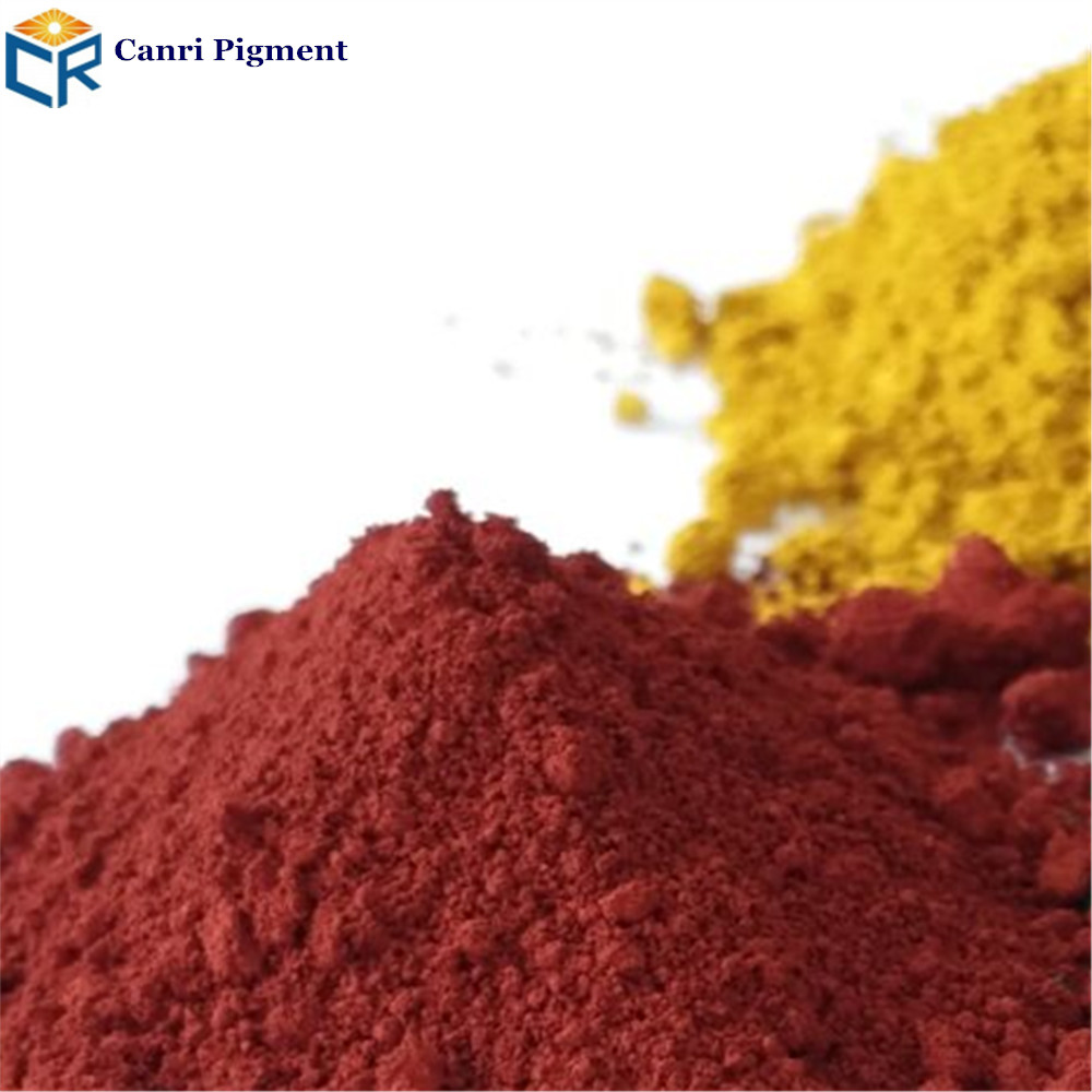 Iron oxide red/powder wall coating paint pigment for paint