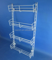 Spice Rack with White Color Coating