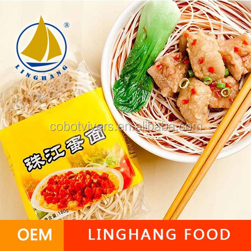 FDA flour wholesale made in Chinese products raw material egg noodles