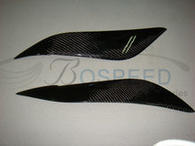 Car Eyelid Carbon Fiber Eyebrows For Toyota Corolla NZ121