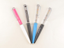 Lively 3D Effect Floater Inside Liquid Filled Pen/Floating Ball Point Pen For Promotional