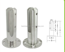 Wholesale China Swimming pool glass clip / OEM or customized stainless steel pool fence glass railing clamp