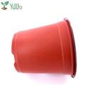 High quality double wall round plastic flower plant pot for nursery plants