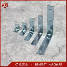 Furniture Metal Right Angle Iron Small 90 degree L Shaped Corner Support Brackets Brace Fixed