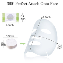 Guangzhou cosmetic tools face beauty compressed mask diy cotton face mask