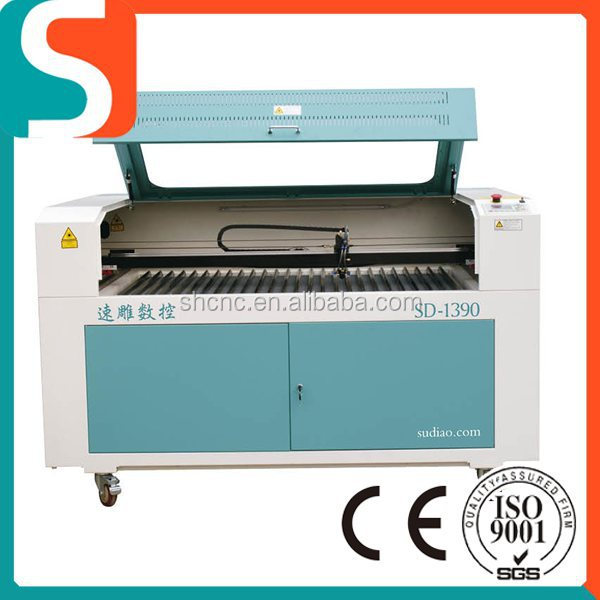 SD-1390(1300*900mm) Factory direct Cheap Hot Sale Fabric/Acrylic/Wood/Granite laser engraving cutting machine