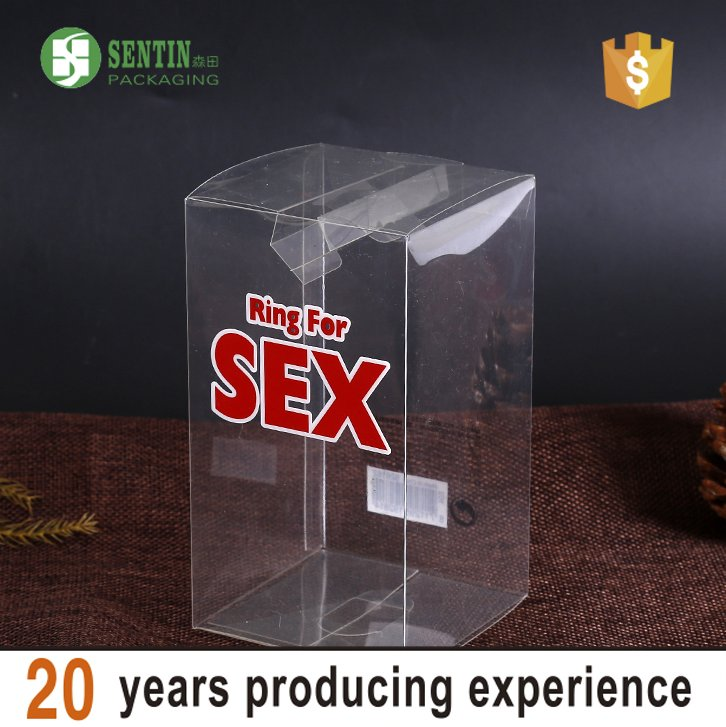 Factory custom pvc clear box SEX luxury gift box packaging