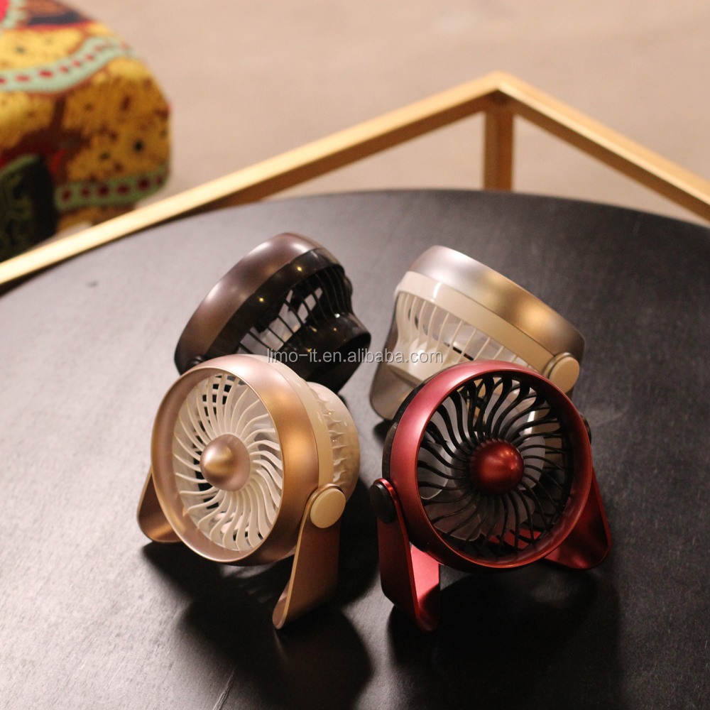 Latest design high performance micro electric handheld mini fan with charger