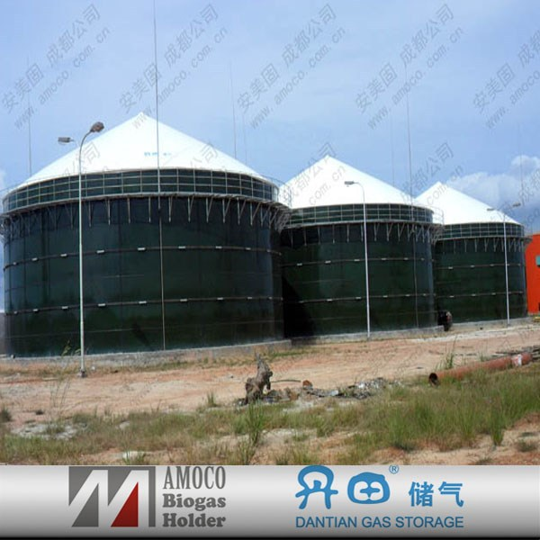 2015 Anaerobic reactor biogas digester wastewater treatment for biogas plant