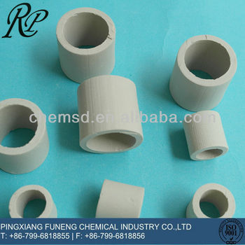 25mm 38mm 50mm 76mm Ceramic Raschig Ring