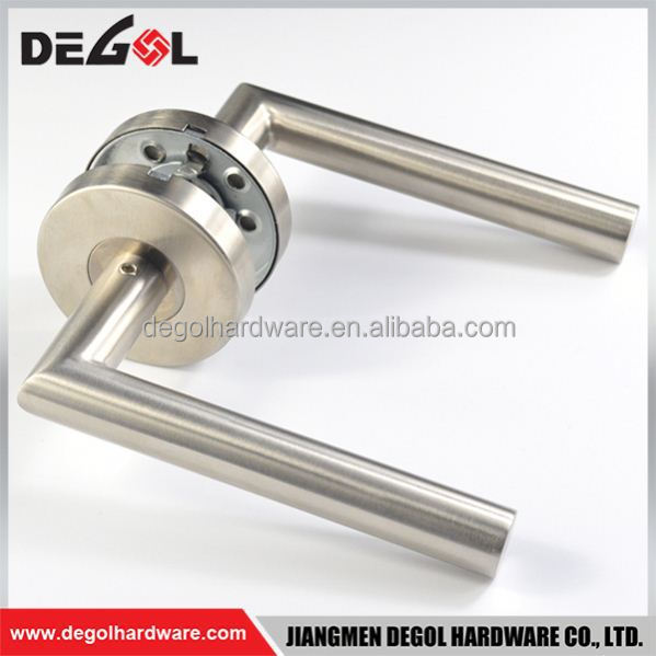 Modern tube lever type stainless steel hardware item