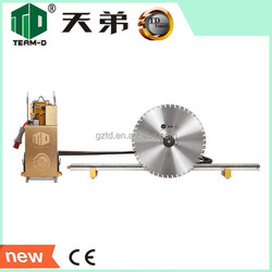 diamond wall sawing hydraulic cutting saw for wall and tunnel