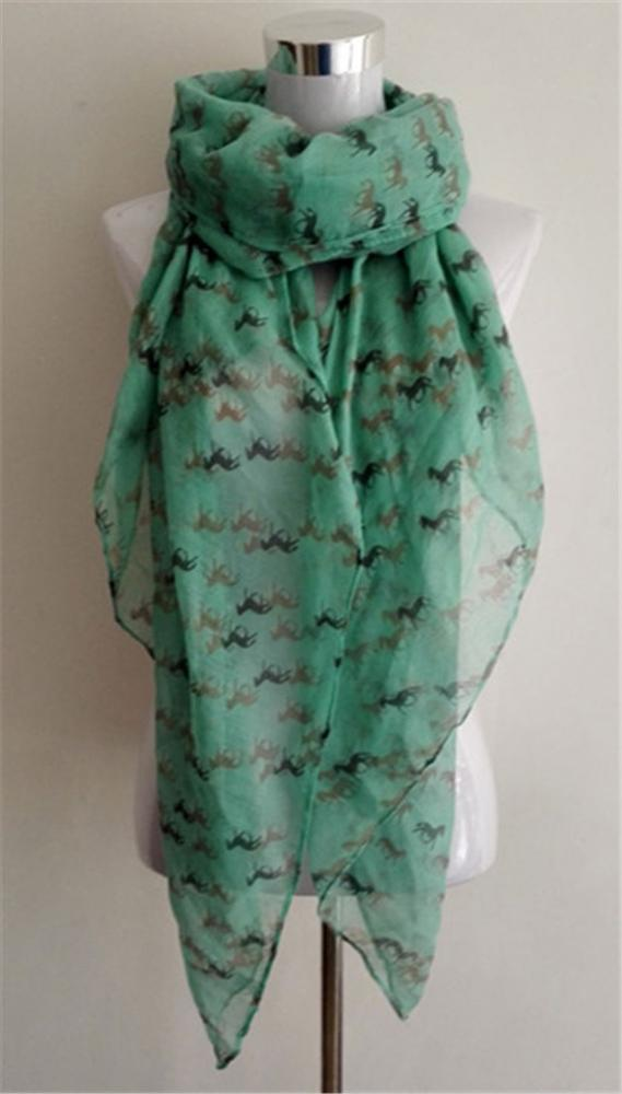 Best selling attractive style polyester warm scarf with different colors