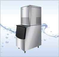 FIM 300(Dual system) Automatic Flake Ice Maker, CE