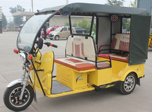 48V1000W 3 Wheel Electric Passenger Auto Taxi Rickshaw / Hot Sale Battery Tricycle
