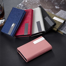 On sales!Custom pu leather money clip, cheap Oracle lines stainless steel aluminium Card Holder wallet