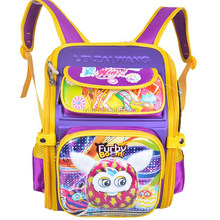 Kindergarten pupils cartoon Backpack Furby Boom Children School Bags 9673D