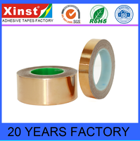 OEM Produced High Thermal Conductive Insulation Copper Foil Fiber Glass Cloth Tape