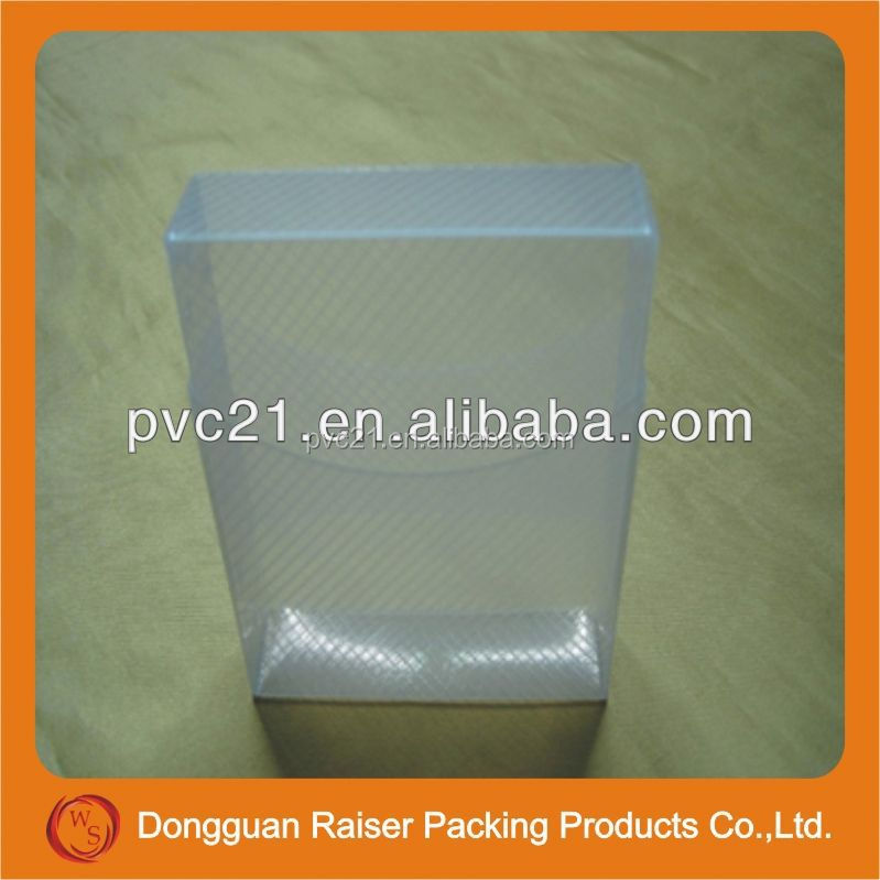 best quality small wooden gift boxes wholesale plastic PVC packing box