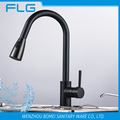 Whole Brass Body Retro Lead Free Oil Rubbed Brass ORB Pull Out Kitchen Sink Faucet FLG8055