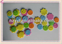 smiling face eva foam stickers for kids