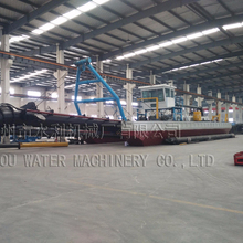 China large cutter suction dredger/dredging machine/sand dredging machine
